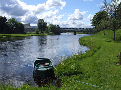 Photograph - River Spey Cromdale by Phil Banks
