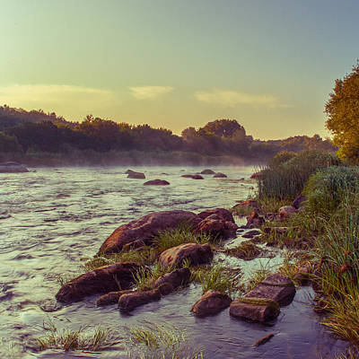 Photograph - River Stones by Dmytro Korol