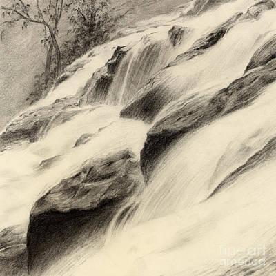 Painting - River Stream by Hailey E Herrera
