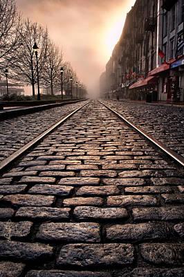 Renee Photograph - River Street Railway by Renee Sullivan
