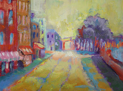 Painting - River Street Savannah by Carol Jo Smidt