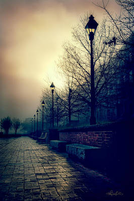 Photograph - River Street Solitude by Renee Sullivan