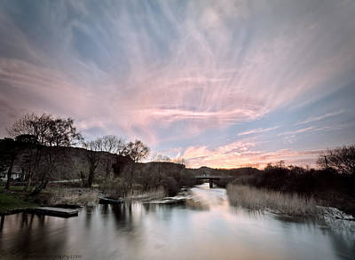 Photograph - River Sunset by Beverly Cash