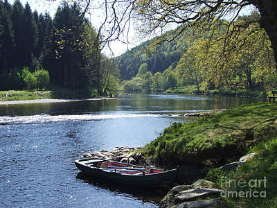 Photograph - River Tay - Perthshire by Phil Banks