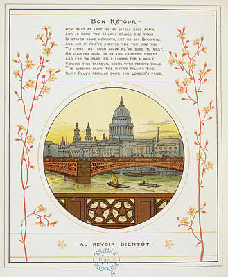 River Thames Art Print by British Library