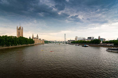 Travel Rights Managed Images - River Thames Royalty-Free Image by Ken Hurst