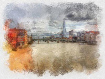 River Thames Art Print by Rick Lloyd