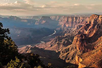 River Through Grand Canyon Art Print