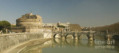 Photograph - River Tibor Rome by Louise Fahy