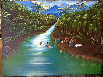 Painting - River Time by Ross Daniel