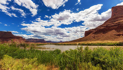 Photograph - River Valley by Tassanee Angiolillo