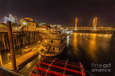 Old Sacramento Photograph - River View by Charles Garcia