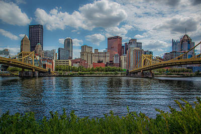 Photograph - River View Pittsburgh by Erwin Spinner