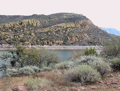 Verde River Photograph - River View by Gordon Beck