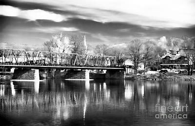 Photograph - River View In New Hope by John Rizzuto
