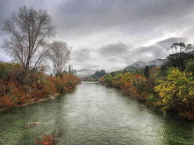 Photograph - River View by Kim Andelkovic
