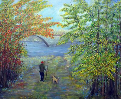 Painting - River Walk by Loretta Luglio