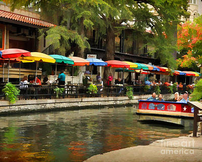 Photograph - River Walk San Antonio by Josephine Cohn