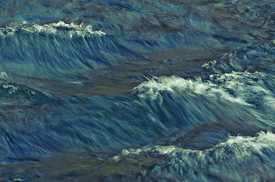 Photograph - River Waves by Sherri Meyer