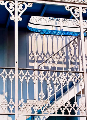 Photograph - Riverboat Railings by Christi Kraft
