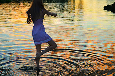 Bare Feet Photograph - Riverdance by Laura Fasulo