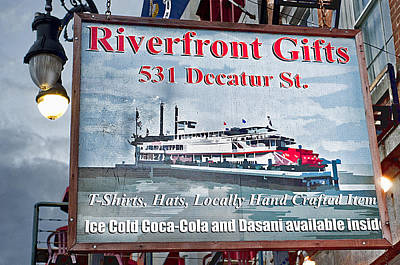 Photograph - Riverfront Gifts by Barry Cole