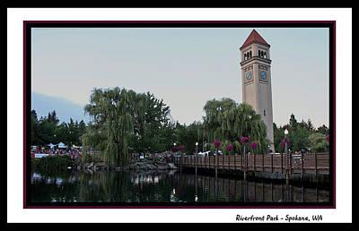 Riverfront Park - Spokane Art Print