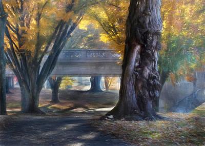 Riverfront Park Art Print by Lori Deiter