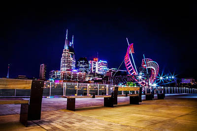 Nashville Tennessee Photograph - Riverfront Vista by Lucas Foley