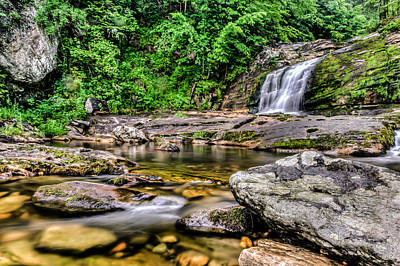 Kent Falls Photograph - Rivers Edge by David Hahn