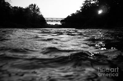 Art Print featuring the photograph Rivers Edge by Michael Krek