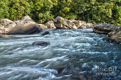 Photograph - Rivers End Rapid On The Lower Yough by Jeannette Hunt