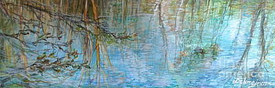 River's Stories  Art Print