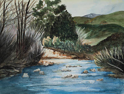 Painting - Riverscape by Lee Beuther