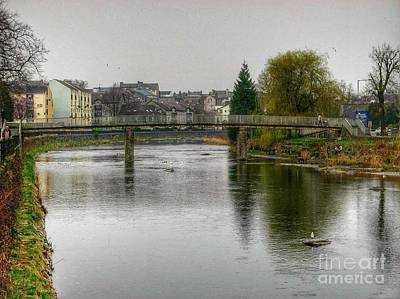 Photograph - The River Kent At Kirkland In Kendal by Joan-Violet Stretch