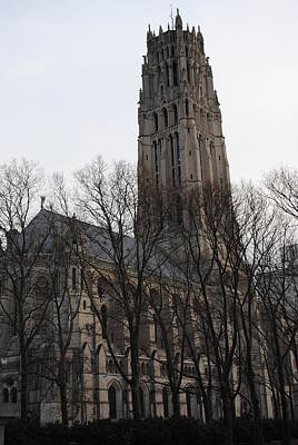 Photograph - Riverside Church In Winter by Robert  Moss