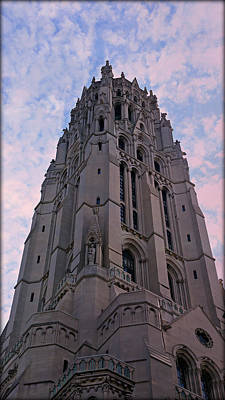 Riverside Church Art Print