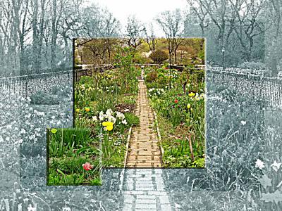 Riverside Garden Art Print