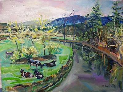 Ashley River Painting - Riverside by Margaret Buchte