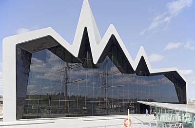 Photograph - Riverside Museum Glasgow by Liz Leyden