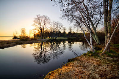 Photograph - Riverside by Robert Clifford