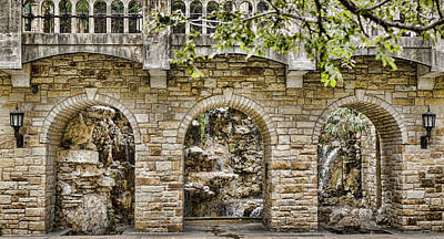 Photograph - Riverwalk Archways by Heather Applegate