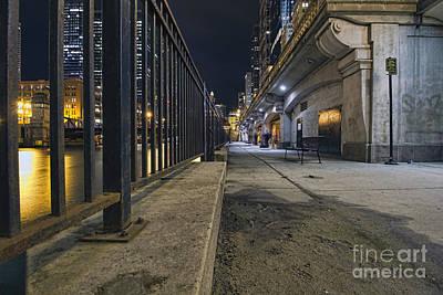 Photograph - Riverwalk Railings by Steven K Sembach