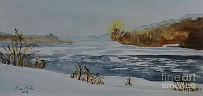 Riviere Lievre Sketch  Original by Lise PICHE