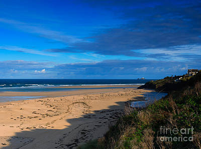 Riviere Photograph - Riviere Sands Cornwall by Louise Heusinkveld