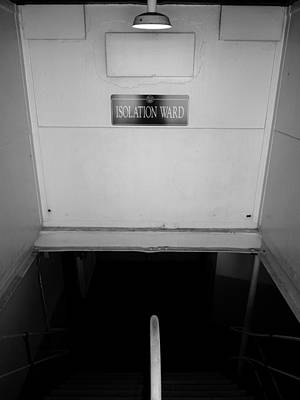 Photograph - Rms Queen Mary Isolation Ward by Jeff Lowe