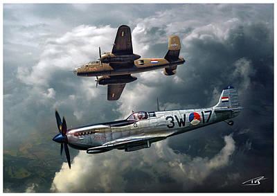 Rnlaf Historical Flight Art Print