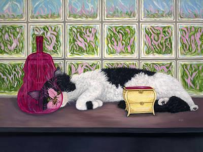 Painting - Roach Approach by Karen Zuk Rosenblatt