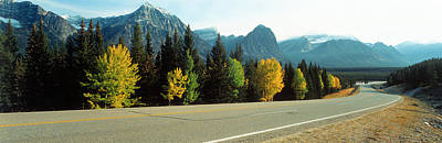 Curving Road Photograph - Road Alberta Canada by Panoramic Images