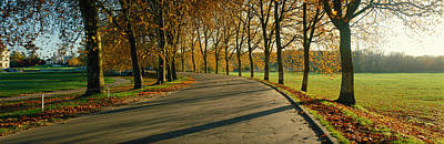 Road At Chateau Chambord France Art Print by Panoramic Images